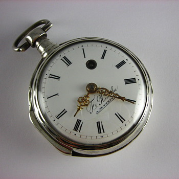 German Verge Fusee Pocket Watch - Pocket Watches