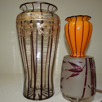 Loetz>Bawo and Dotter>Honesdale Decorating company: Versailles Pattern - Art Glass