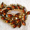 JULIANA? RHINESTONE BROOCH