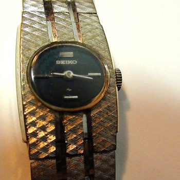 SEIKO WIND UP PETITE FACE WHAT YEAR IS IT? - Wristwatches