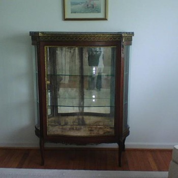 Rosewood China Cabinet - late 1800's from France - Furniture