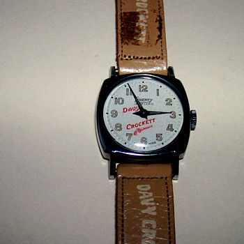 Davy Crockett Wristwatch 1954
