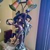 Art Deco Semi Nude Lamp with original wiring
