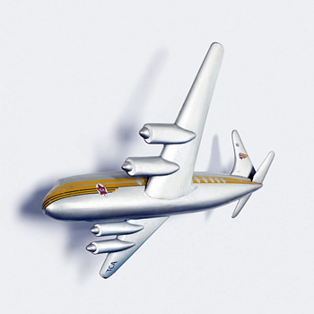 TCA Airplane Model - Advertising