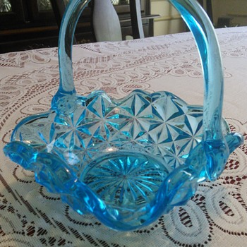 Indiana Glass-Monticello Basket - Glassware