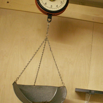 Chatillion Hanging Scale - Tools and Hardware