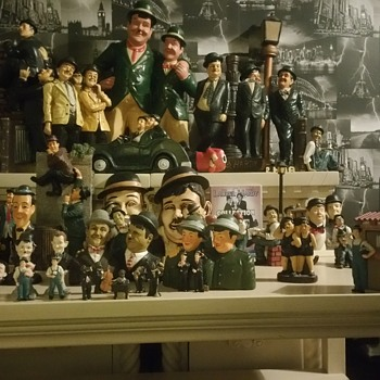 laurel hardy collection / ornaments - Figurines