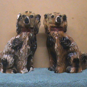 Sligo dogs - Art Pottery
