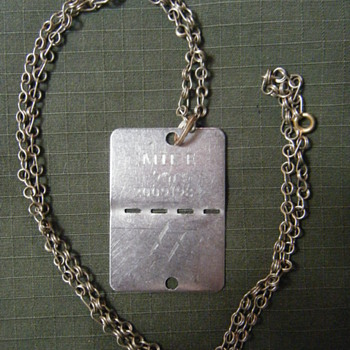 IDF ISRAEL DEFENSE FORCES DOG TAG - Military and Wartime