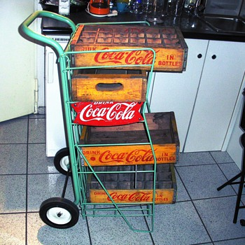 My awesome coke trolley - Coca-Cola