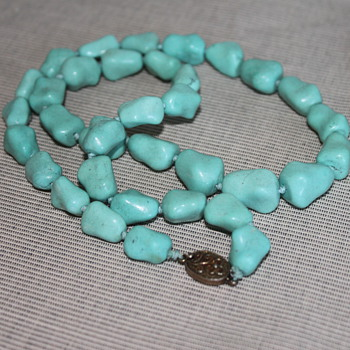 Chinese Import Turquoise Necklace - Fine Jewelry