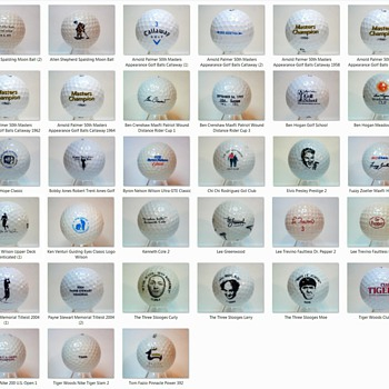 The fringes of Signature Golf Ball