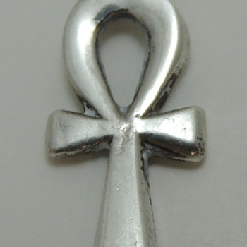 Tiny Ankh - Egyptian Silver Hallmark - Fine Jewelry