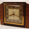 General Electric &quot;Tuscan&quot; Mantle Clock 1939