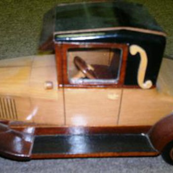 Wooden 1926 Cheverolet  - Model Cars