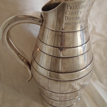 French Silver Jug - Boucheron