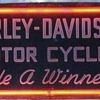 1930's Art Deco Harley-Davidson Neon Sign