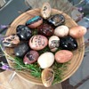 Collection of Stone Eggs
