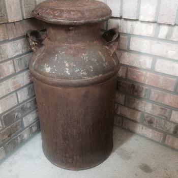 Crowleys Binghampton NY milk container