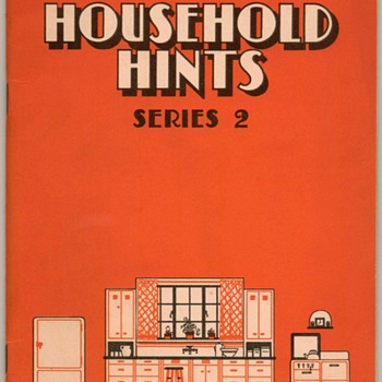 1932 - Ceresota Flour Household Hints Recipe Booklet - Books