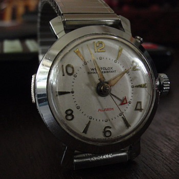 1960 Westclox Alarm watch        &quot;Watchlarm&quot;