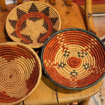 Southwestern Native American Basket - Native American