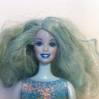 A Blue Barbie? - Dolls