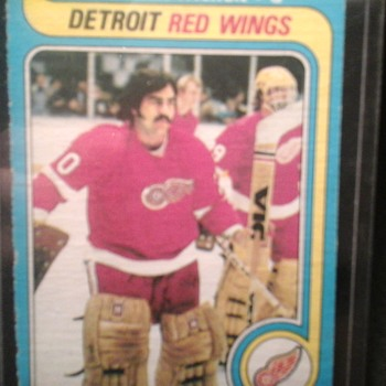 Vintage Red Wings Hockey Cards - Hockey