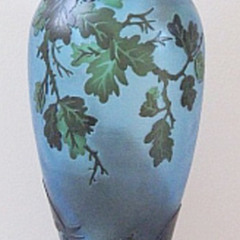 "Galle 13"" Jungle Vase - Art Glass"