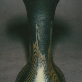 KEW BLAS ART GLASS VASE, circa 1908