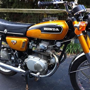 1972 Honda CB175 - Motorcycles