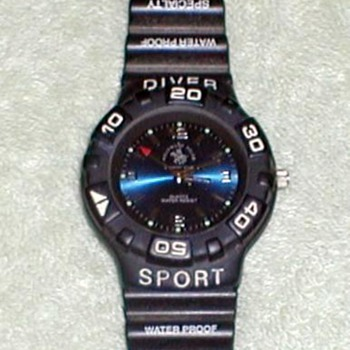 1995 - Diver Sport Wristwatch - Wristwatches