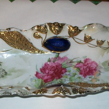 Pickle dish/ relish tray China with germany 41 on back