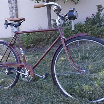 1939 Schwinn New World - Outdoor Sports