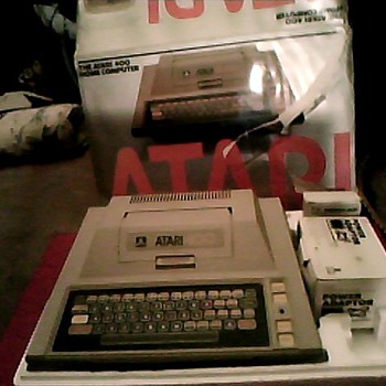 ATARI 400 AND ATARI COMPUTER 600XL - Games