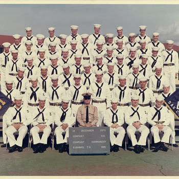 Navy Enlisted Uniforms around 1970 - Military and Wartime