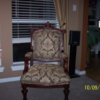 antique eastlake chair - Furniture