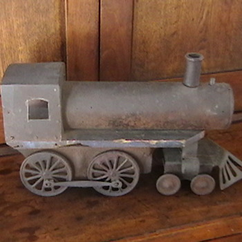 1920s Train Engine Pull Toy