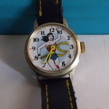 DABS & Co. Wonder Woman Wrist Watch Circa 1977 - Wristwatches