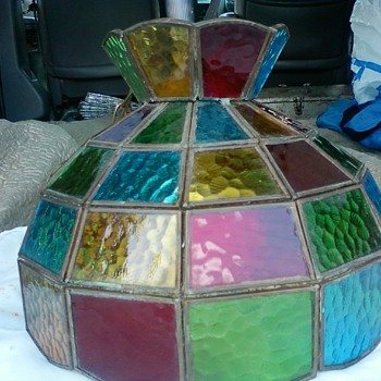 Stain Glass Lamp - Lamps