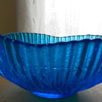 Peacock Blue Bowl