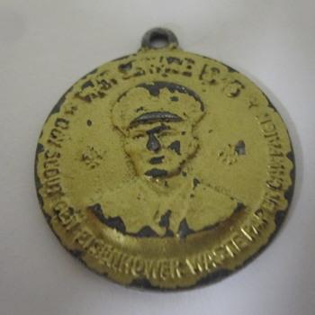 Eisenhower 1945 Boy Scout Medal