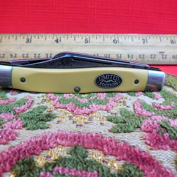 Vintage Schrade N.Y. U.S.A. 881Y Limited Edition Whittlin' Knife  - Tools and Hardware
