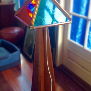 1970s post and rail Lamp