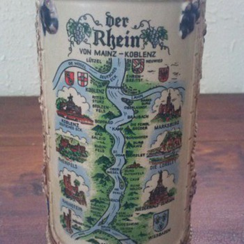 My Favorite German Beer Stein