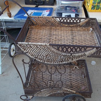 Vintage Tea Cart - Furniture