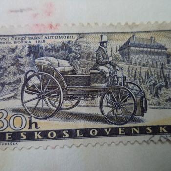 30h ceskoslovensko stamp