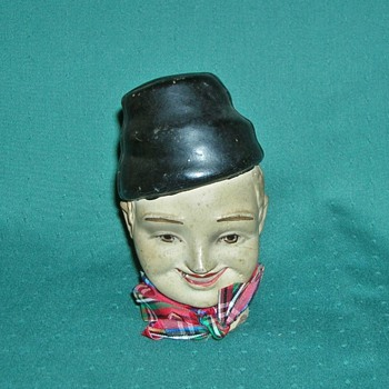 Clay Doll Head or Puppet Head - Dolls