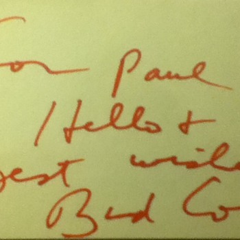 Bud Cort autograph