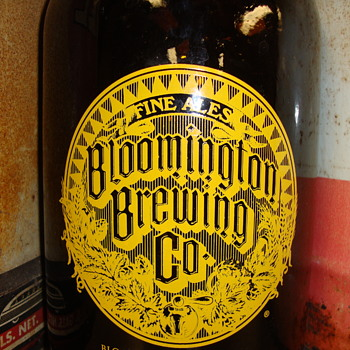 Bloomington Indiana Brewing Co. Jug......... - Breweriana